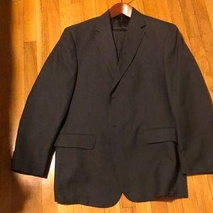 Grey Suit 44R - NWOT
